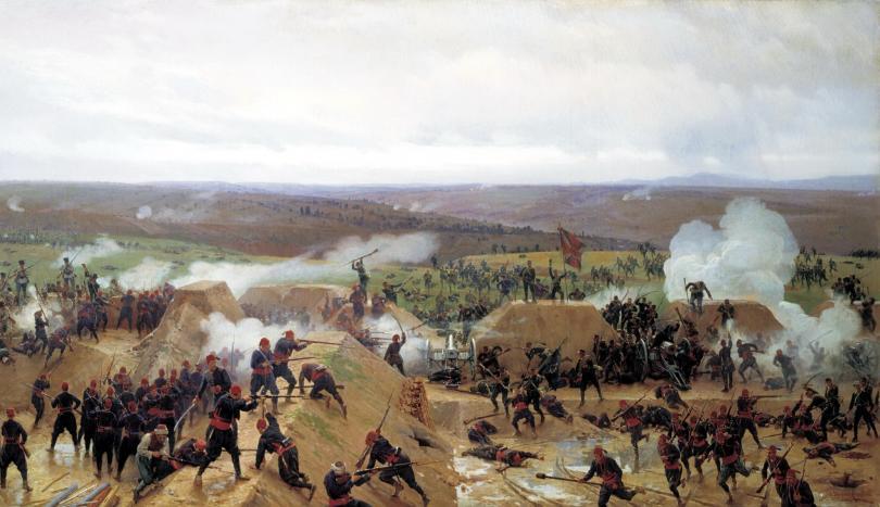 prevzemaneto-na-grivishkiya-redut-pri-pleven-1885-g-khud-nd-dmitriev-orenburgski-246117-810×0